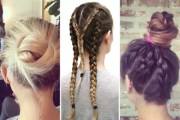 workout hairstyles - hair