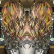hair color trends - tye dye