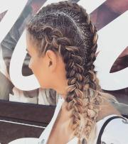 glitter roots hair trend - music