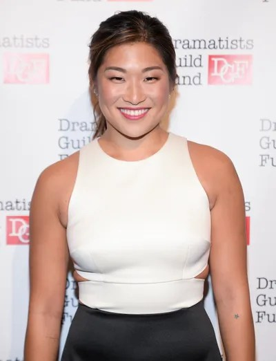 Image may contain Jenna Ushkowitz Human Person Fashion Premiere Clothing and Apparel