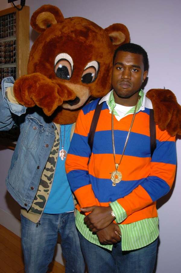 Kanye West College Drop Out Bear