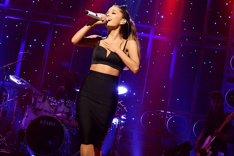 Ariana Grande Tweets 2 New Song Remixes  Teen Vogue