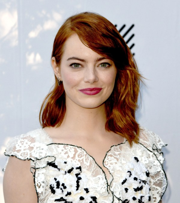 Emma Stone Hair And Makeup Of Teen Vogue