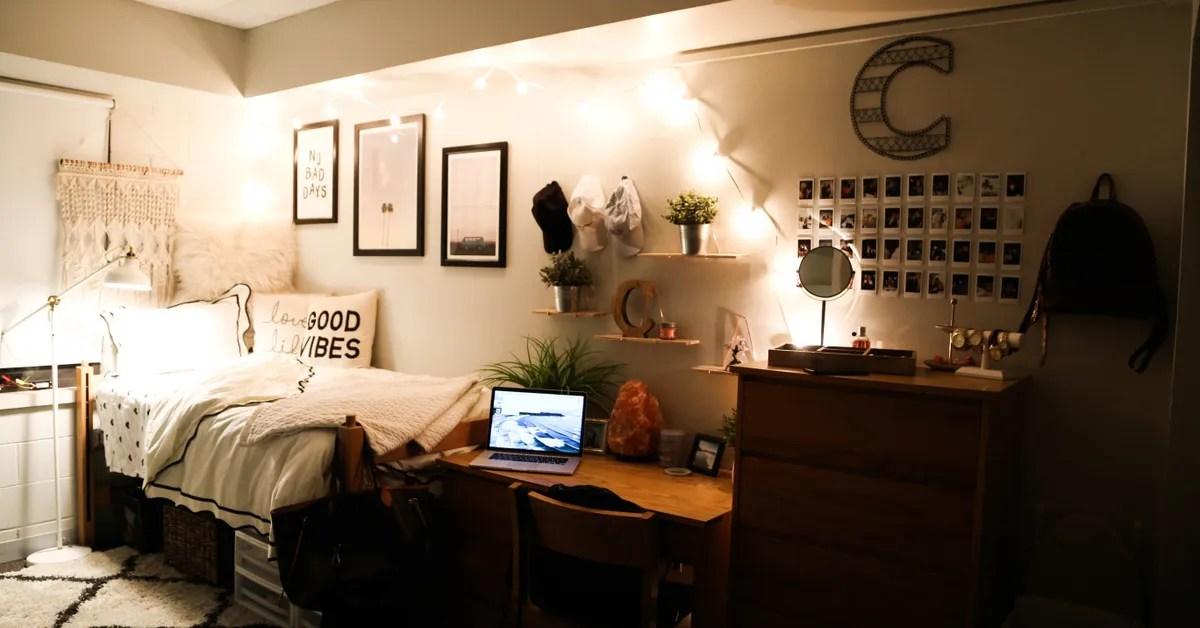 Dorm Decor at Boston College  Teen Vogue