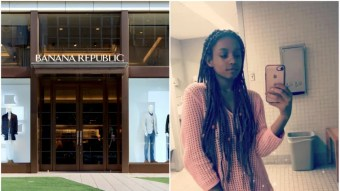 This Banana Republic Employee Faced Discrimination Because Of Her Hair
