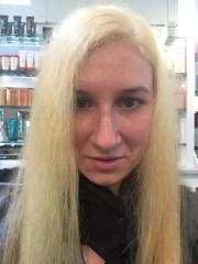 blue hair dye tips