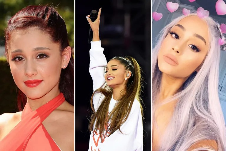 Ariana Grandes Beauty Evolution Her Best Hair And Makeup