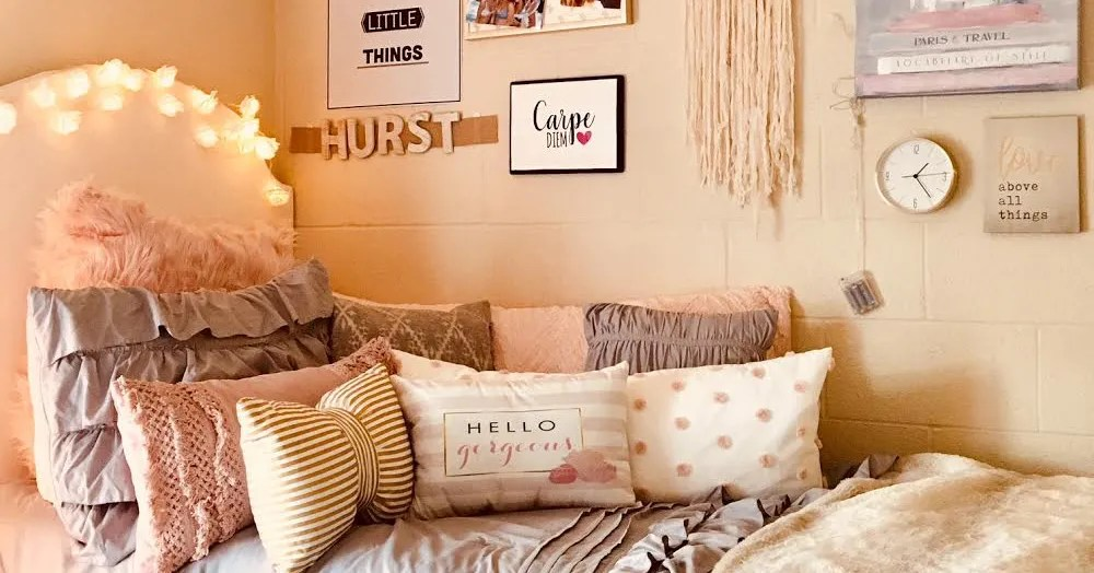 Mercyhurst University Dorm Decor  Teen Vogue