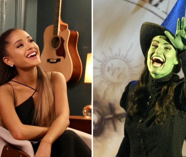 Ariana Grande Set To Star In Nbcs 15thanniversary Concert Special Of Wicked