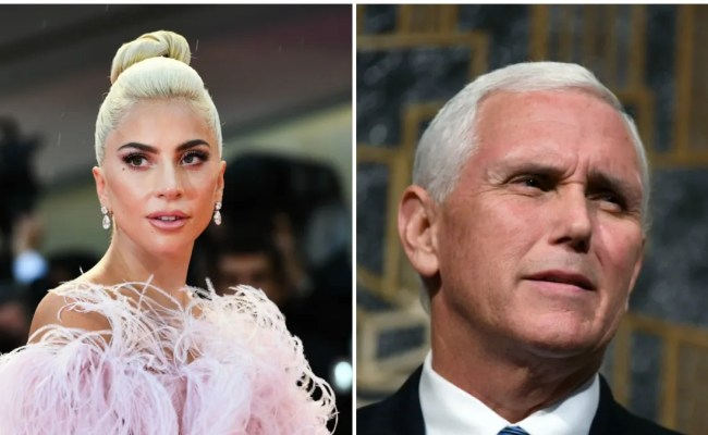 Lady Gaga Slammed Mike Pence And Donald Trump Teen Vogue