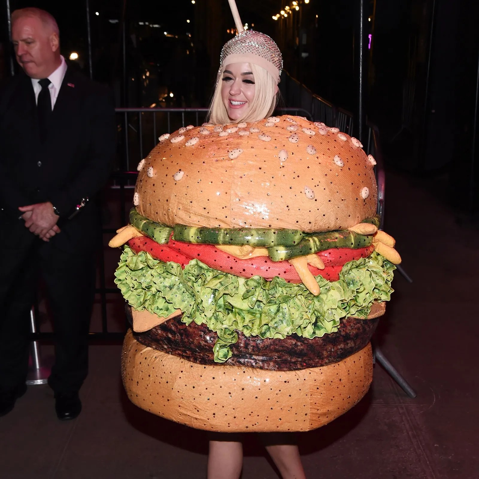 katy perry dressed up