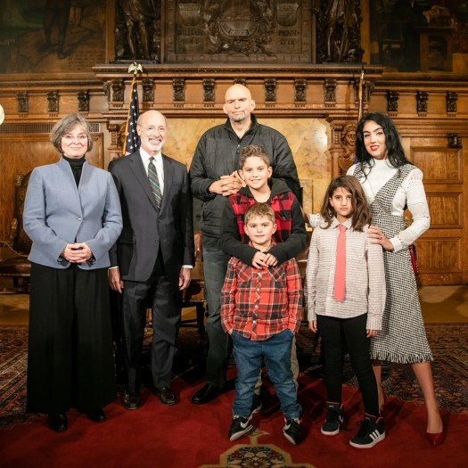 John and Gisele Fetterman Are Fighting for the American ...