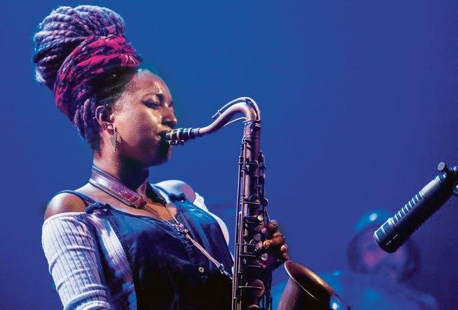 We're not rockstars: Saxophonist Nubya Garcia, the new rage in jazz - Telegraph India