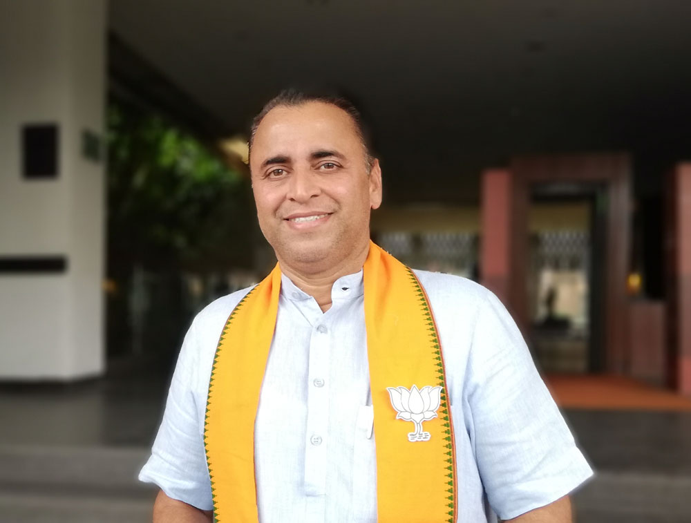 BJP's poll warrior Sunil Deodhar says his party is on the upswing in Bengal - Telegraph India