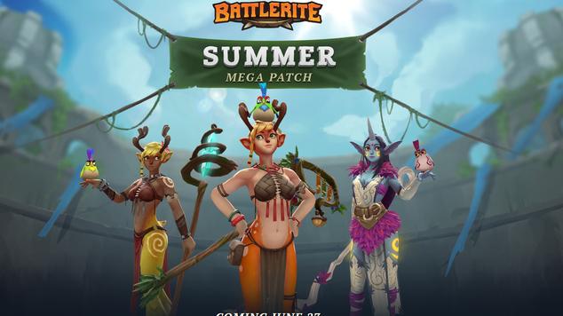 Ten Ton Hammer Battlerite Summer Mega Patch Looks Mega