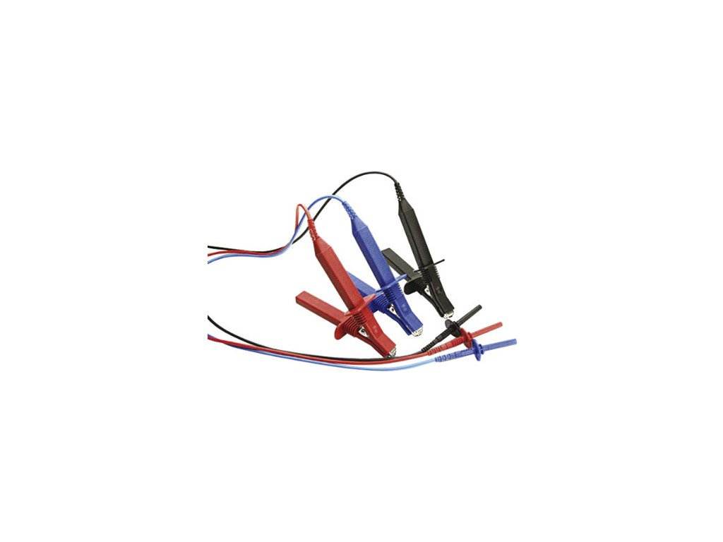 Megger 1002-642 Test Lead Set with Medium Insulated Clips