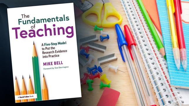 Book review: The Fundamentals of Teaching, by Mike Bell
