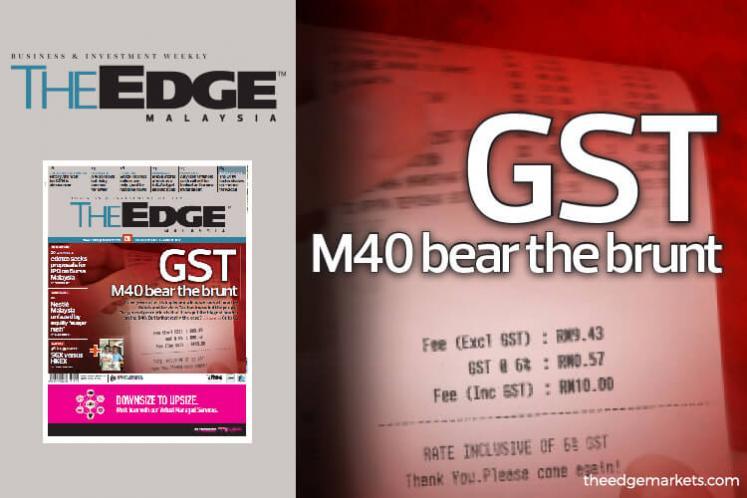 GST M40 bear the brunt