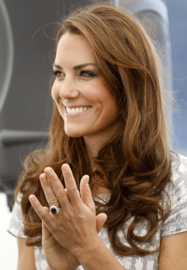 Kate Middleton Luscious Locks