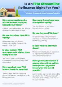 FHA Streamline Refinance