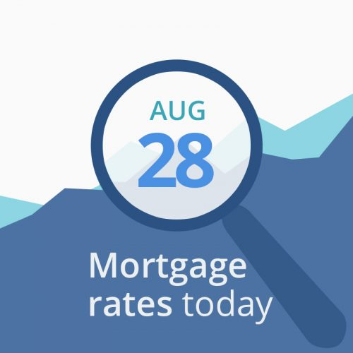 mortgage rates today august