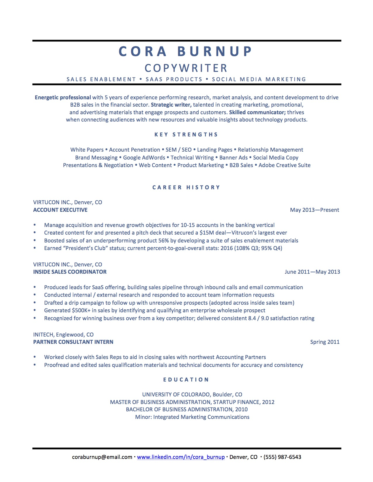 Resume Double Sided How To Spin Your Resume For A Career Change The Muse