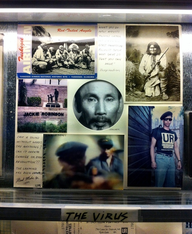 exhibit at Detroit's Techno Museum
