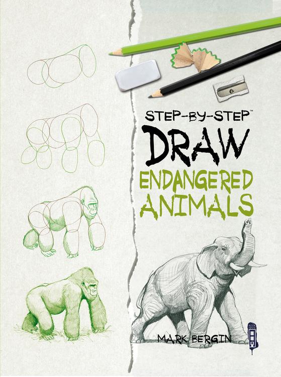 Endangered Animals Drawing : endangered, animals, drawing, Endangered, Animals, Appleseed
