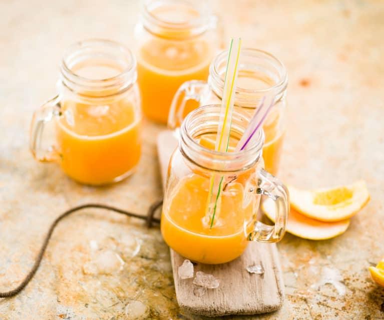 cocktail orange carotte et citron