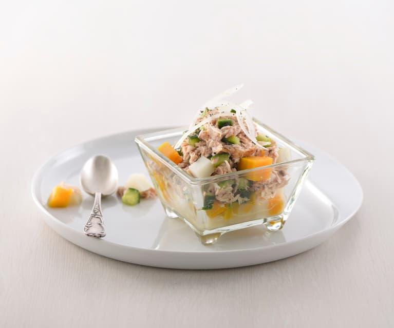 南瓜馬鈴薯鮪魚沙拉 - Cookidoo® – Thermomix® 官方食譜平臺