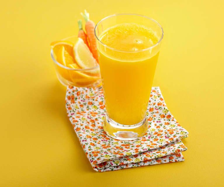 jus vitamine orange carotte et citron
