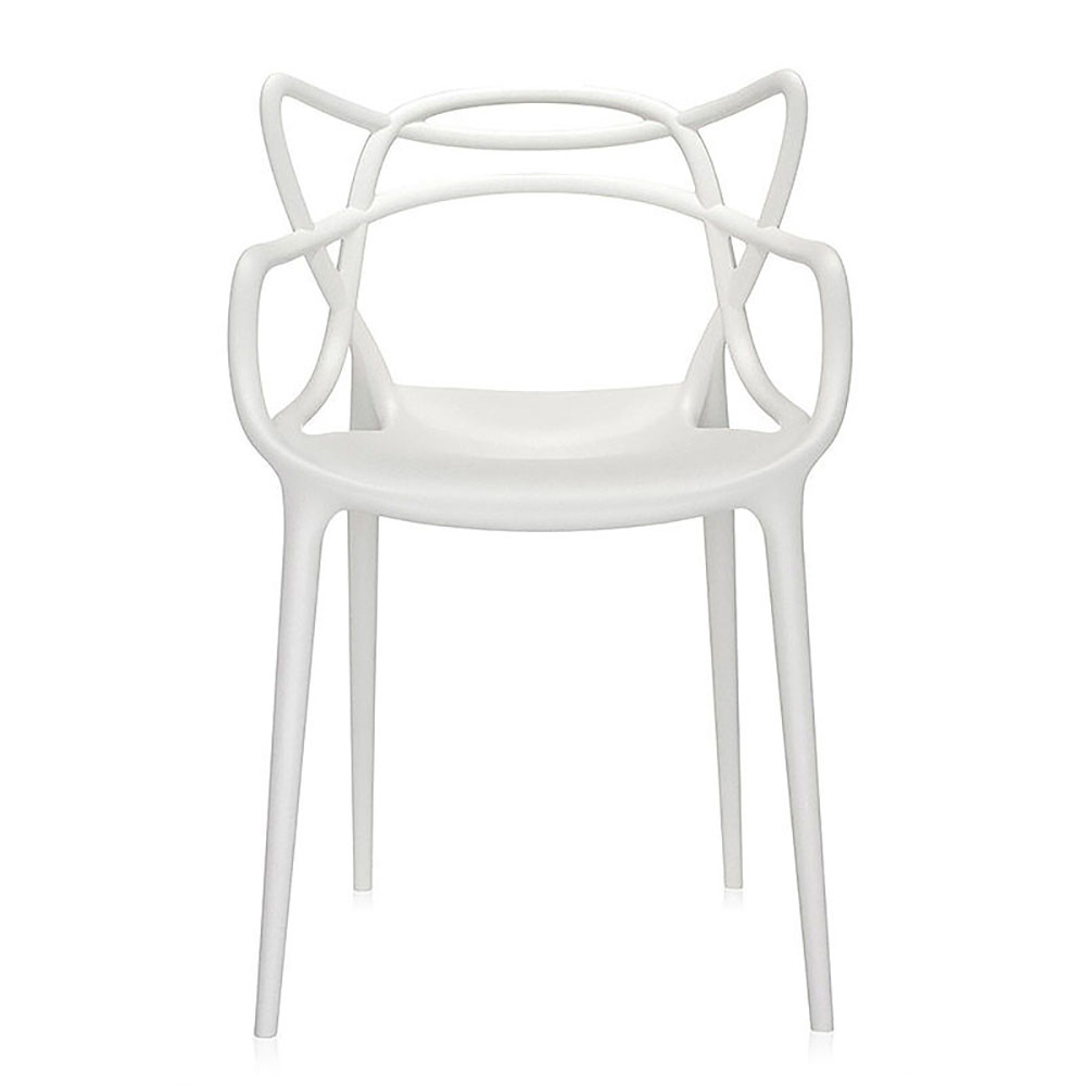 top3 by design  Kartell  masters chair white