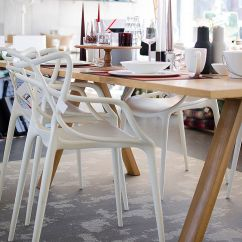White Outdoor Dining Chair Australia Pet High Top3 By Design - Kartell Masters