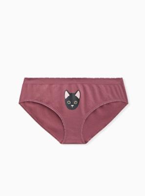 Cute Panty Pics : panty, Purple, Kitty, Seamless, Hipster, Panty, Torrid