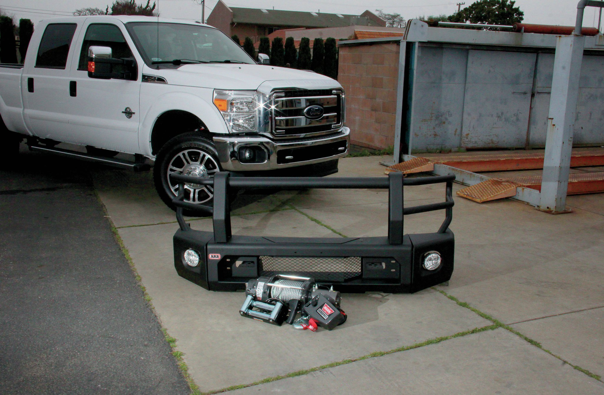 medium resolution of arb bumper and ford super duty