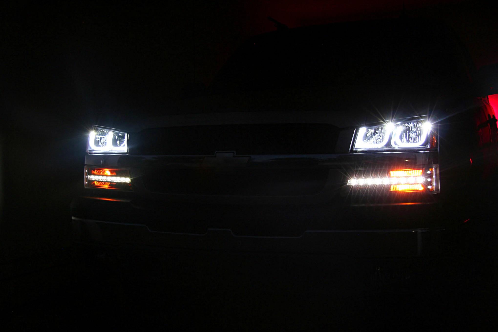 anzo led light install on 03 06 chevrolet pickups hella headlight wiring diagram anzo headlight wiring diagram [ 2039 x 1360 Pixel ]