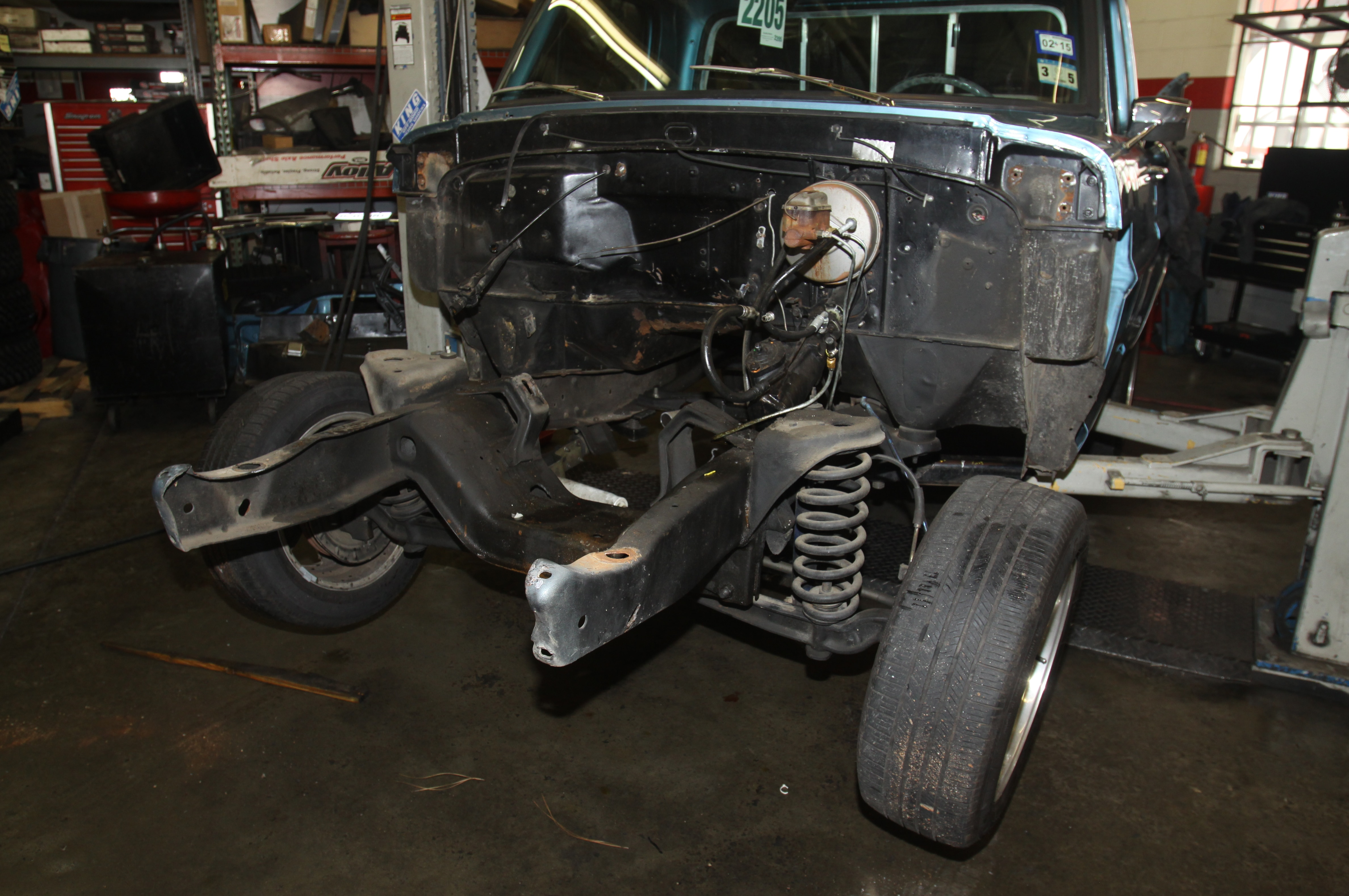 medium resolution of 1967 ford f 100 front clip removed view photo gallery 21 photos