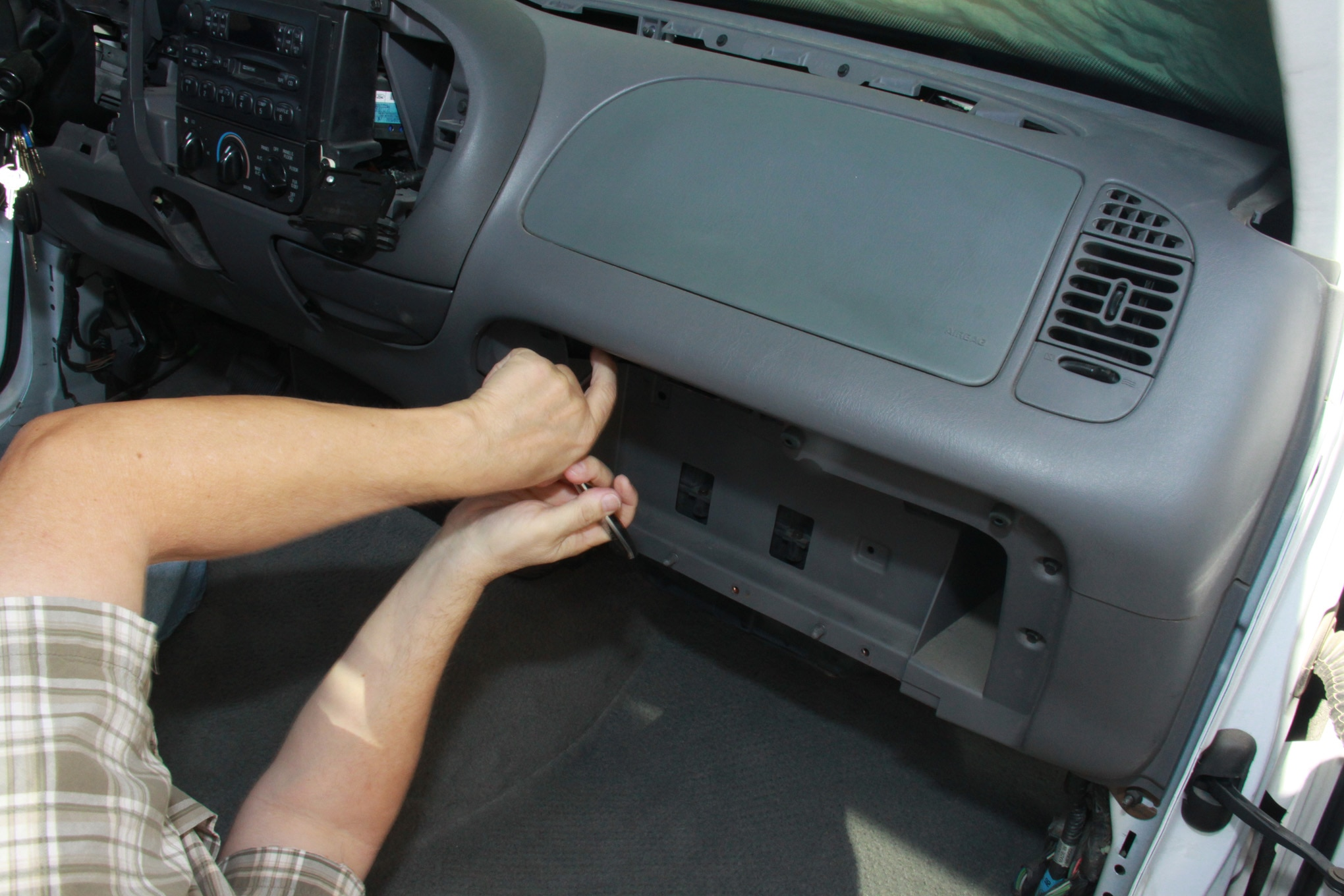 hight resolution of ford f150 heater core airbag removal view photo gallery 27 photos