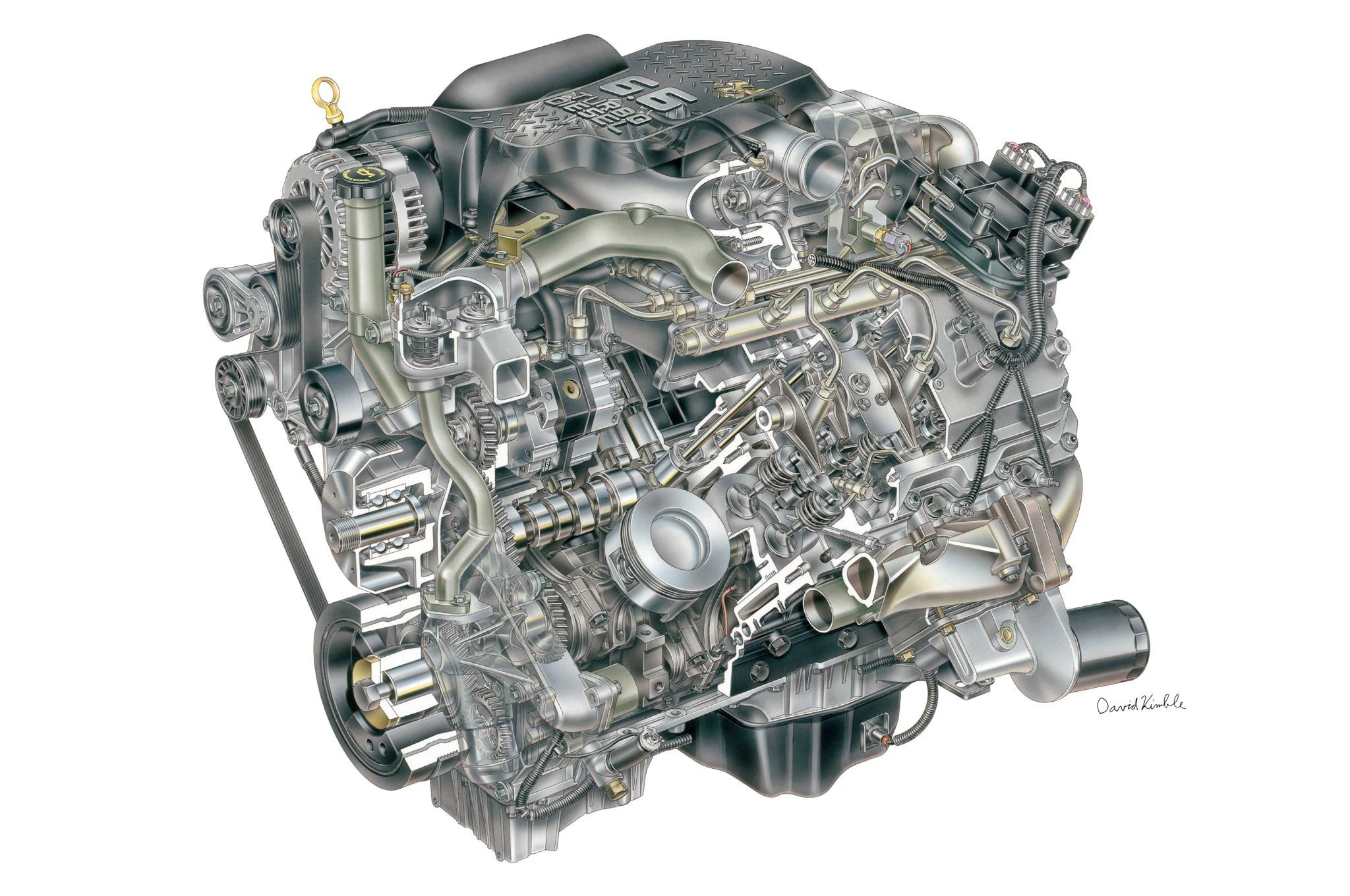 small resolution of engine diagram 05 6 6 duramax