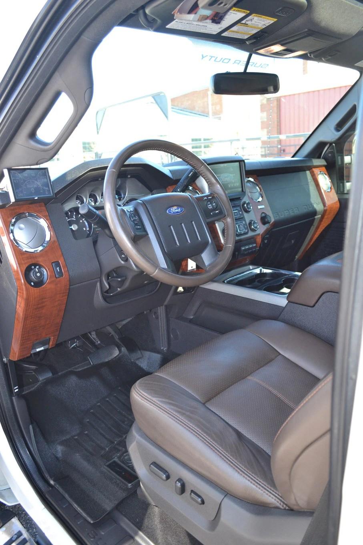 2020 Ford F350 King Ranch Interior : ranch, interior, F-350, Ranch