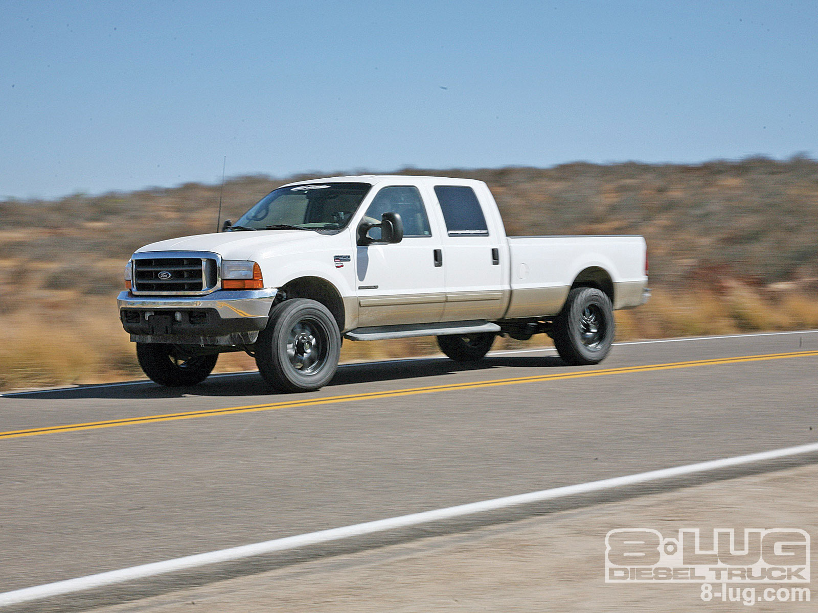 small resolution of 0902 8l 01 pro comp suspension on ford f350 ford f350
