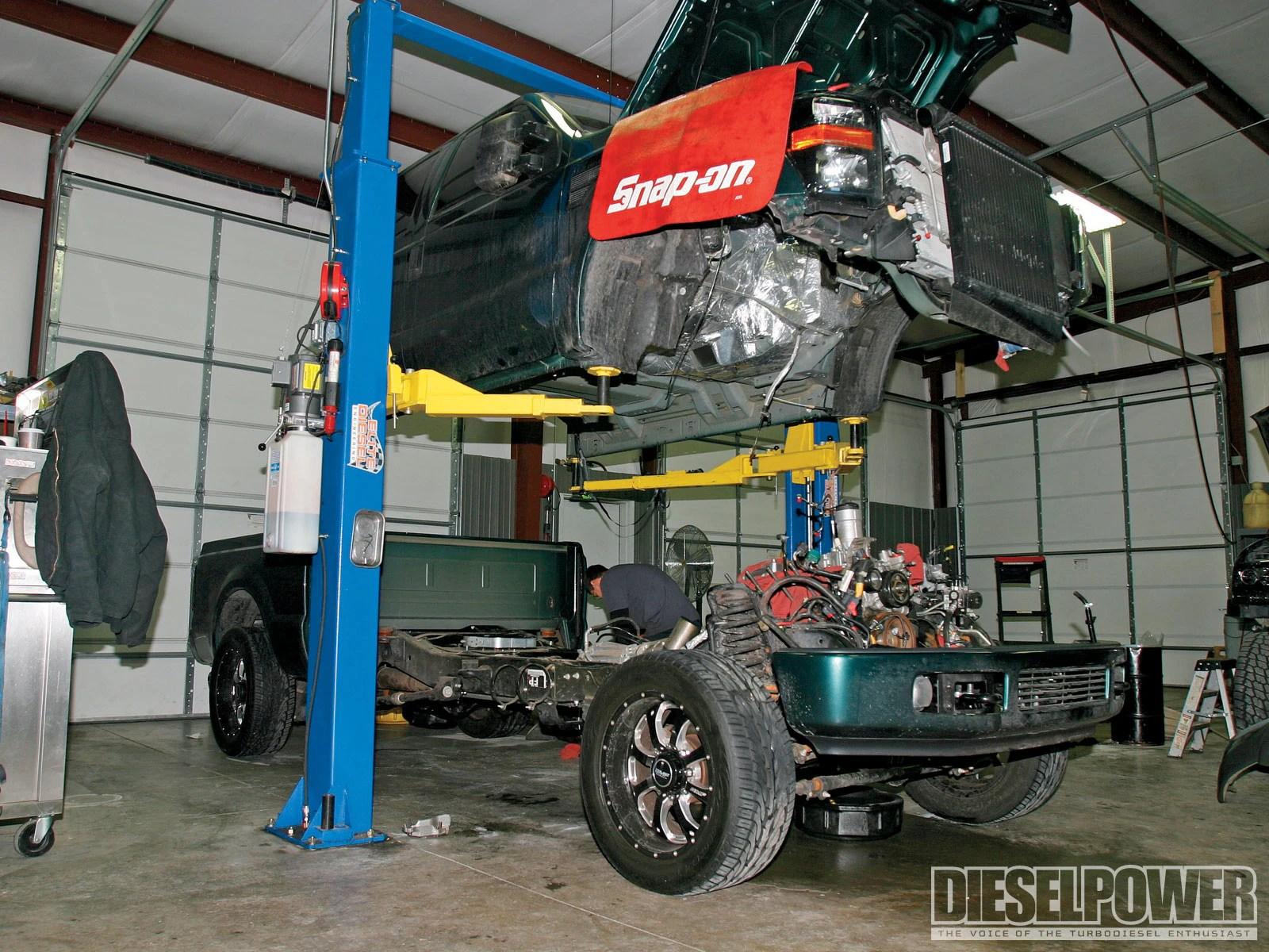 medium resolution of diesel power 2008 ford f250 transmission cab lift