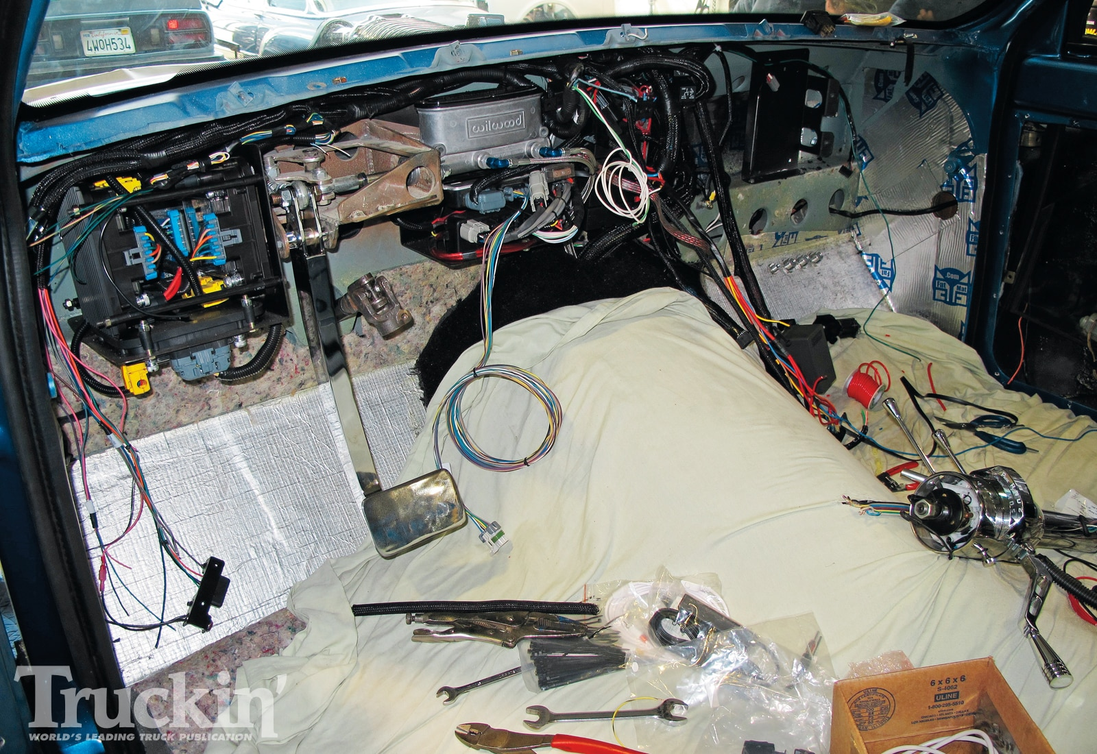 1967 Chevy C10 Buildup Isis Wiring Harness Installed