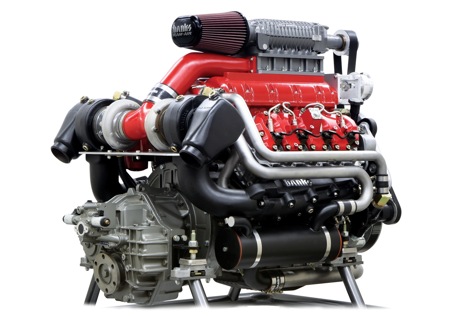 6 6l duramax diesel engine right front angle [ 1600 x 1100 Pixel ]
