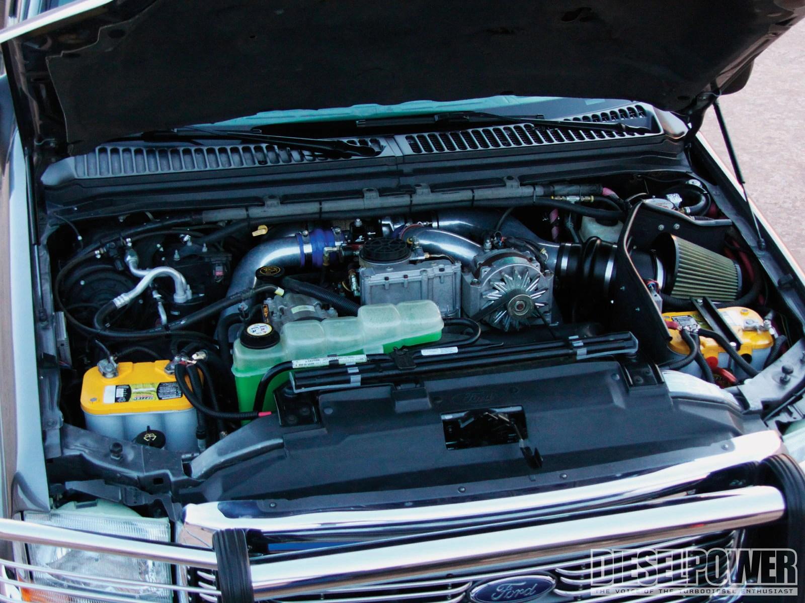 medium resolution of 1012dp 160k dollar ford super duty f550 engine bay