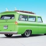 1966 Chevrolet Suburban Lime Crush