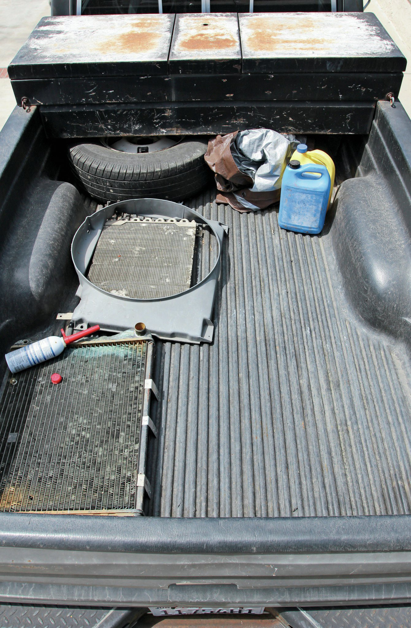 Herculiner White : herculiner, white, Herculiner, Roll-on, Bedliner, How-to