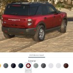 2021 Bronco Sport Ford Adventure Builds Gear Outfit Wheels Tires