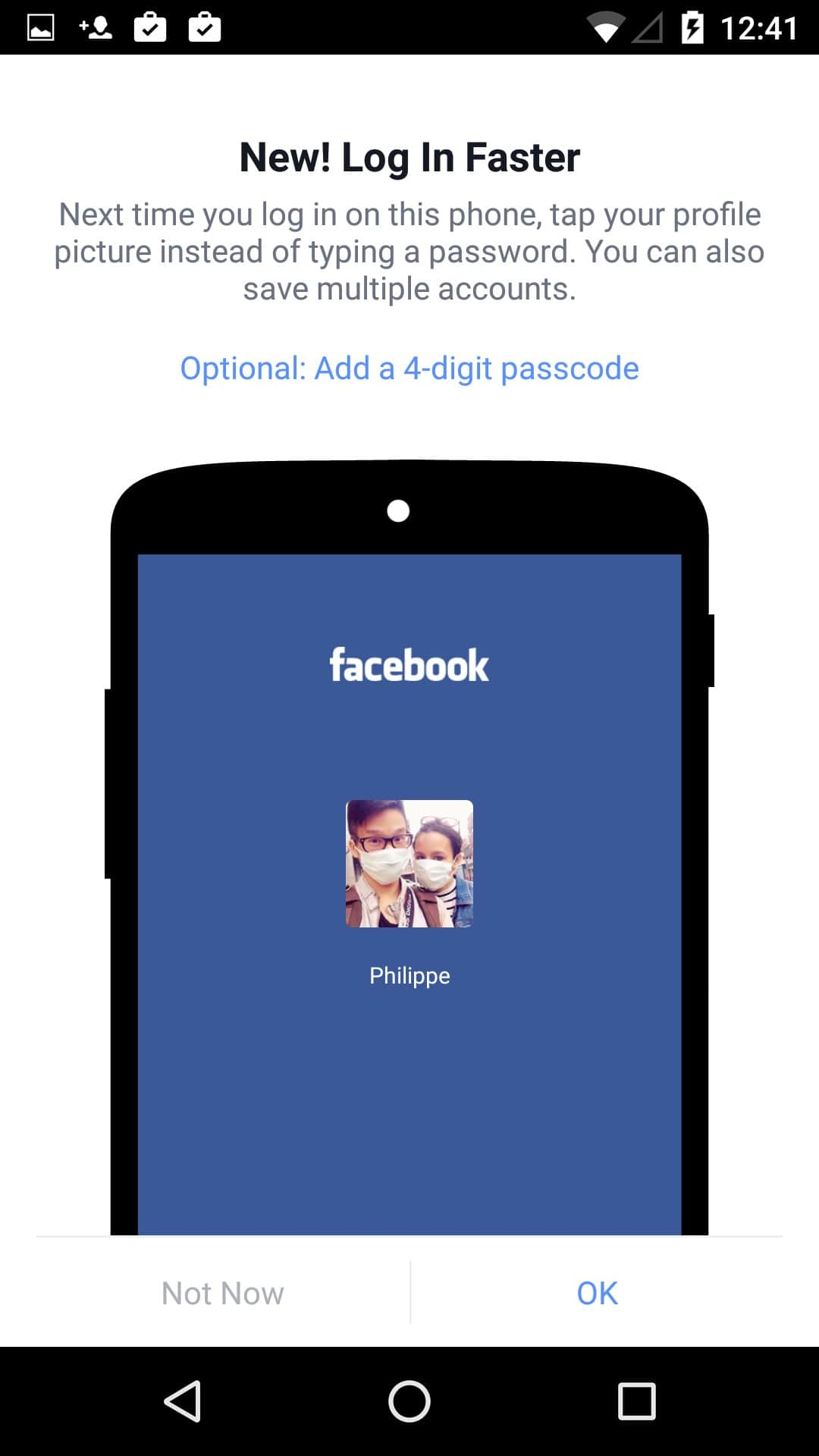 New feature on Android by Facebook from UIGarage