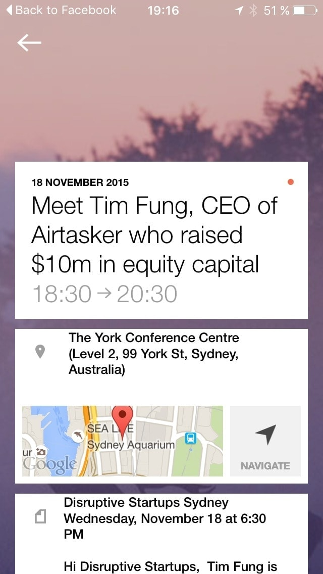 Day view on iOS by Anydo from UIGarage